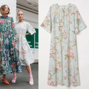 GP&J Baker X H&M floral/bird dress in mint